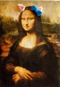 Väljavõte Leonardo da Vinci Mona Lisast inspireeritud animatsioonist