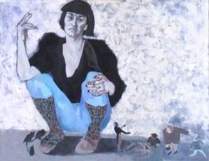 """""""Briviba"""", darba autors Anna Egle"""